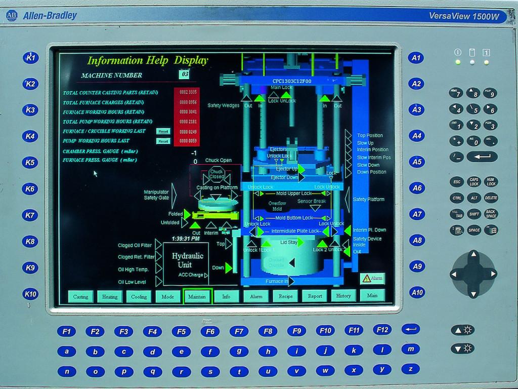 1300 Control Screen